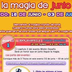Magia de Junio - Evento GB